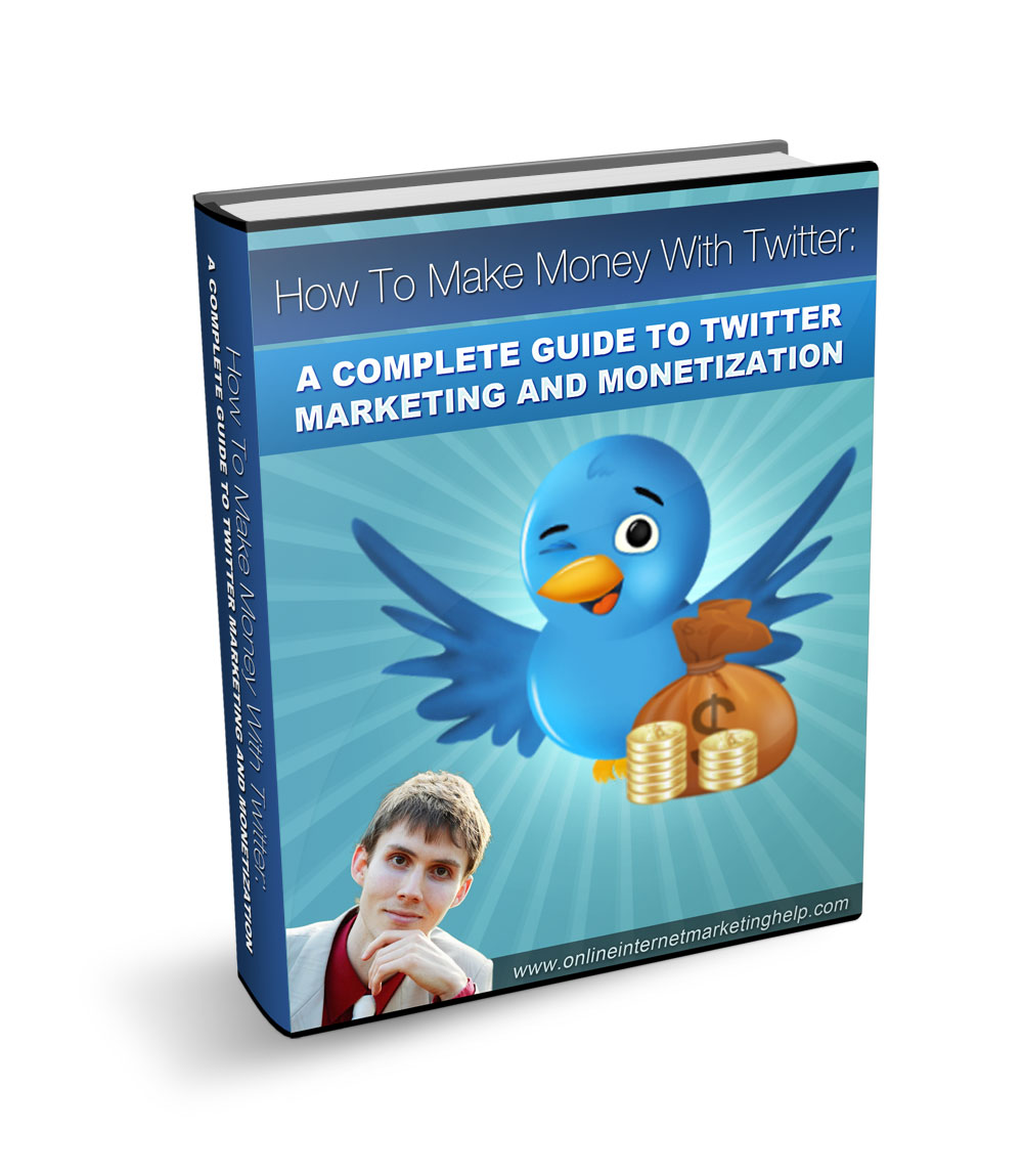 Make Money With Twitter eBook Cover picture
