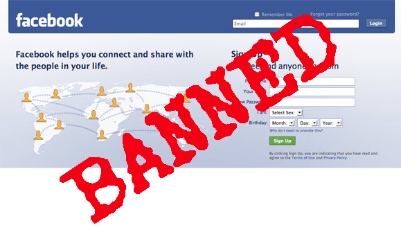 Facebook Banning Users picture
