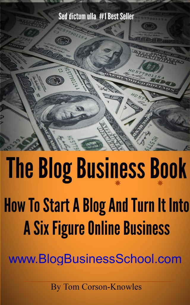 Blog Business Book Cover picture
