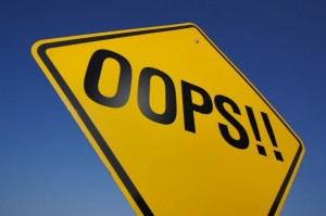 common blogging errors